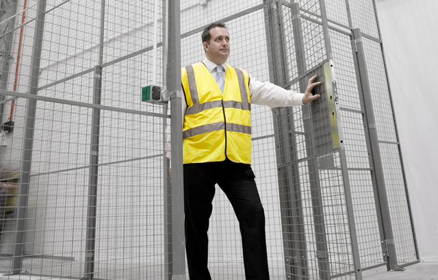 Mesh Panels for Storage, Partitioning & Anti-collapse - CREATE AUTHORIZED ACCESS
