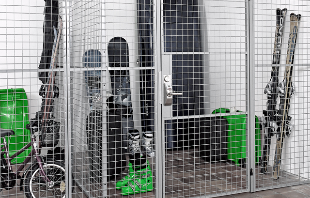 Mesh Panels for Self-Storage, Apartments & Basements - SAFE STORAGE FOR SAFE LIV